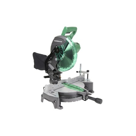 Factory-Reconditioned Metabo HPT C10FCGMR 10 in. Compound Miter Saw (Refurbished)