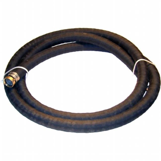 Eagle A004-0642-1620 Eagle Black Rubber Suction hose MalexFemale Water Shanks-Black