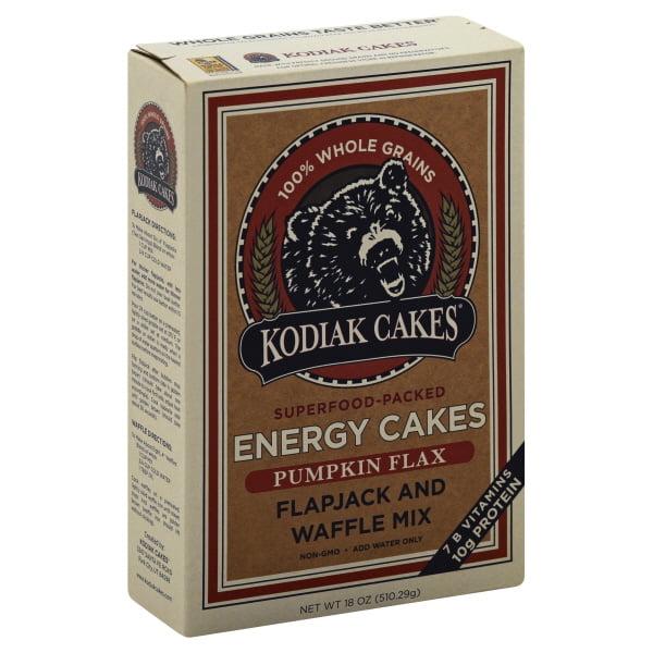Energy Cakes Pumpkin Flax Mix