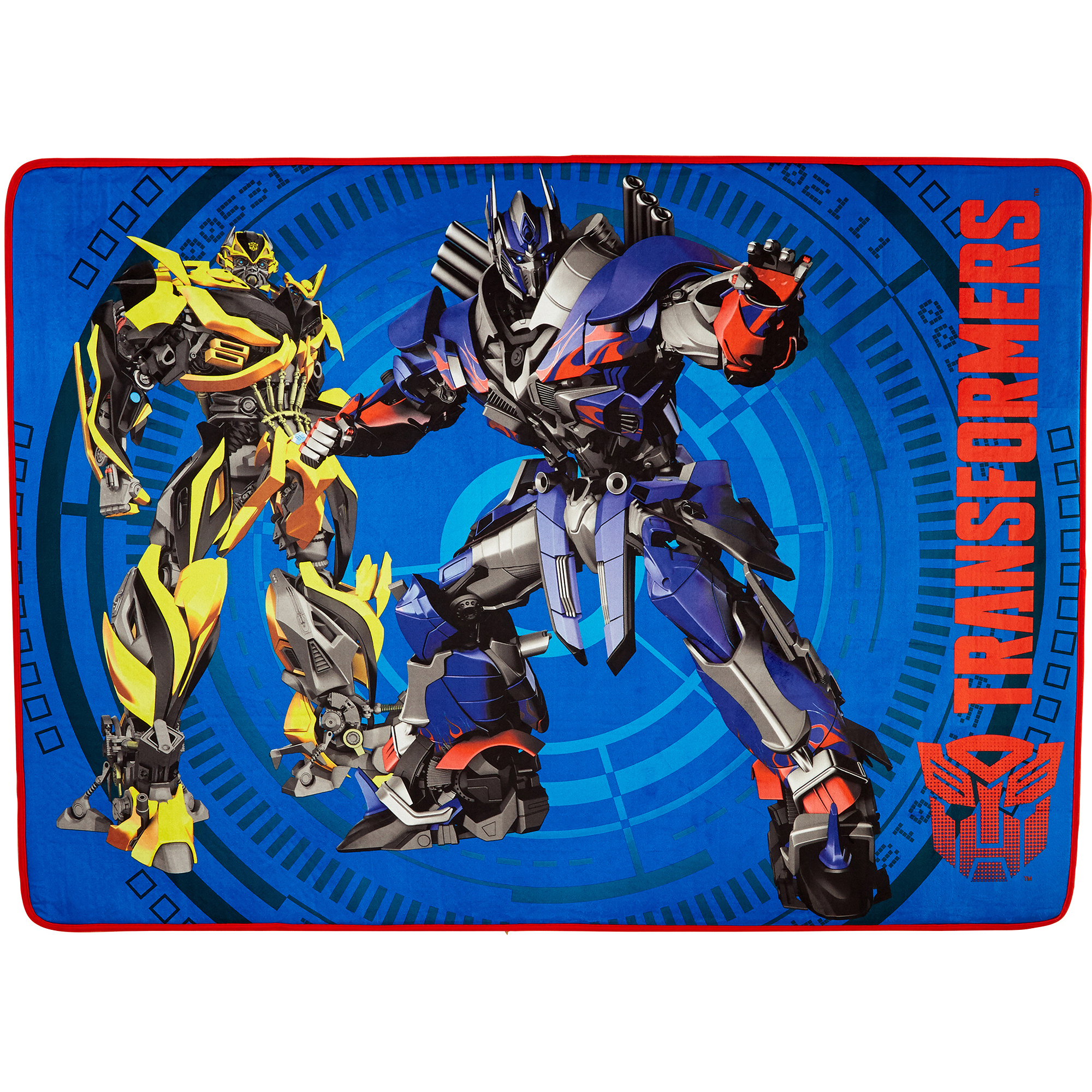 "Transformers Fun Polyester Kids Accent Rug, 40"" x 56"""