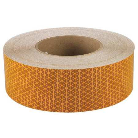 REFLEXITE 22667 Reflective Tape, W 2 In, SB Yellow