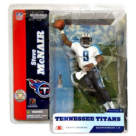 Steve McNair Action Figure White Jersey Variant Sports Picks Series 8