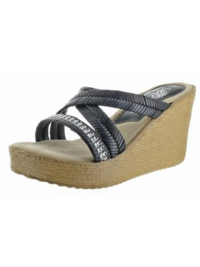 722e2a44dc0 Product Image Sbicca Womens Zennia Chevron Woven Wedge Sandals