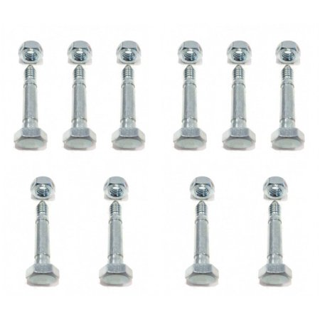 (10) SHEAR PIN BOLTS for Ariens 532005 53200500 Snowblowers Snowthrowers Auger by The ROP Shop (Shear Pins 53200500)