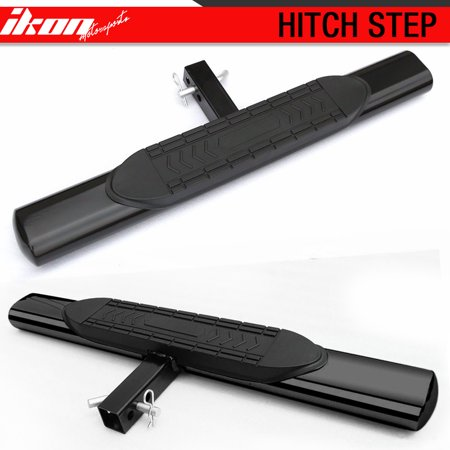10 Inch Step Bumper - Universal Hitch Step Bumper Guard Compatible with Vehicles With 2Inch Receiver 5Inch Oval