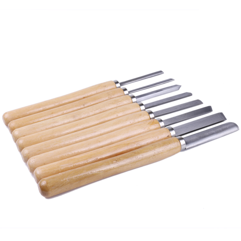 8 Piece Wood Chisel Woodworking Hand Tool Set