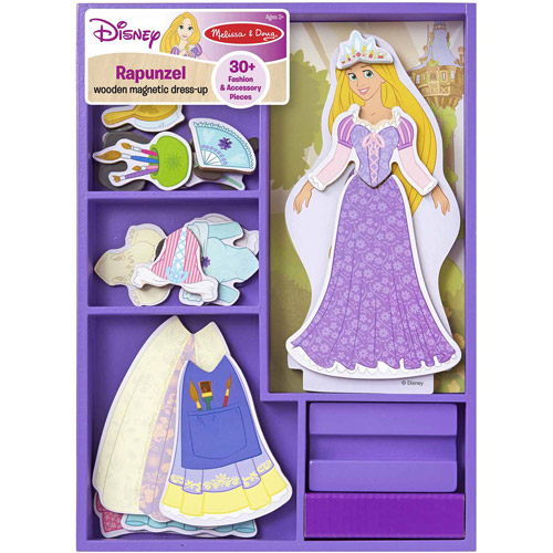 Melissa & Doug Disney Rapunzel Wooden Magnetic Dress-Up