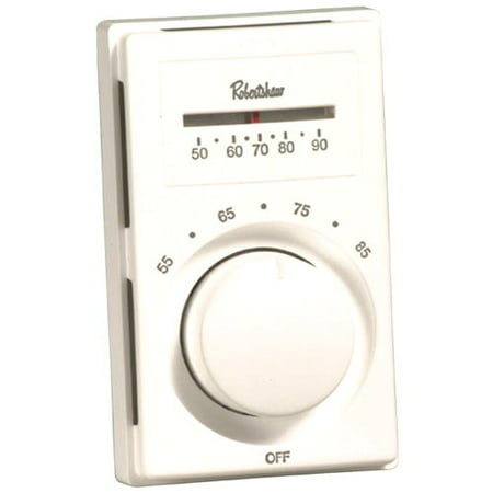 ROBERTSHAW� LINE VOLTAGE THERMOSTAT WITH SINGLE-POLE SINGLE-THROW, HEAT ONLY per 2 Each ()