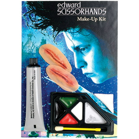 Edward Scissorhands Makeup Kit Adult Halloween Accessory](Edward Scissorhands Halloween Makeup)