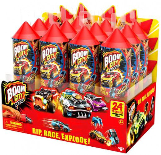 1 Mystery Pack L2P Boom City Racers Car