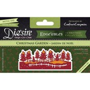 Diesire Edgeables Cutting & Embossing Die-Christmas Garden