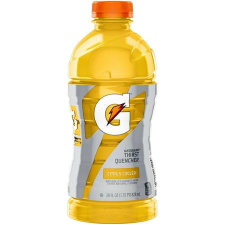 Gatorade Citrus Cooler Thirst Quencher Sports Drink 28 Fl