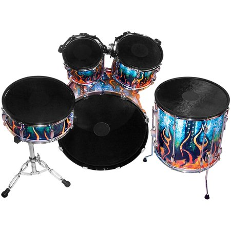 Pintech Electronic - Pintech Double Zone Acoustic to Electronic Drum Conversion Kit