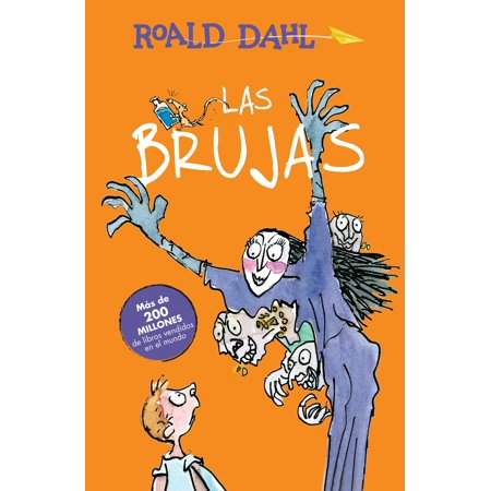 Las Brujas / The Witches (Paperback) - Halloween Bruja Animado