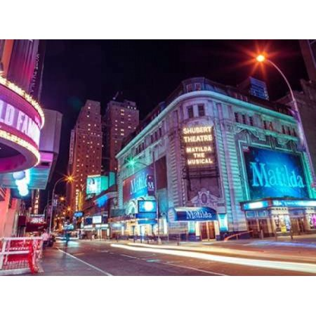 Times square and Broadway at night - New York City Poster Print by  Assaf Frank (New York City Poster Broadway)