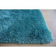 Turquoise Blue Color 8'x10' Feet Shag Shaggy Solid Plush Fluffy Fuzzy Furry Flokati Decorative Designer Area Rug Carpet Rug