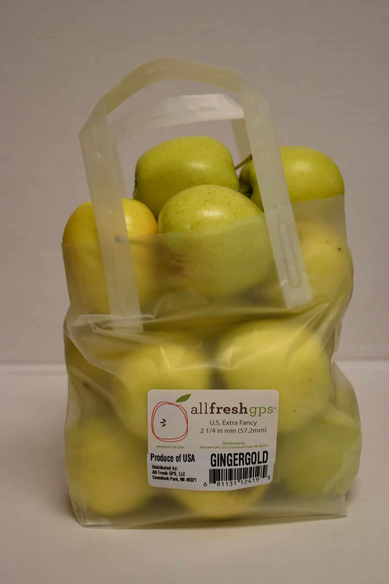 Ginger Gold Apples, 5 lb Tote