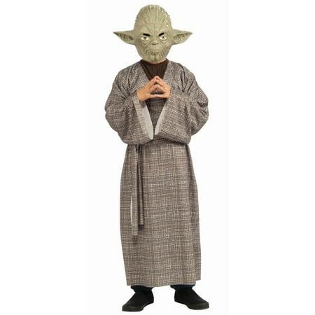 Star Wars Yoda Deluxe Child Halloween Costume