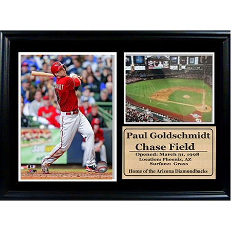 MLB Arizona Diamondbacks Photo Stat Frame, 12x18 by
