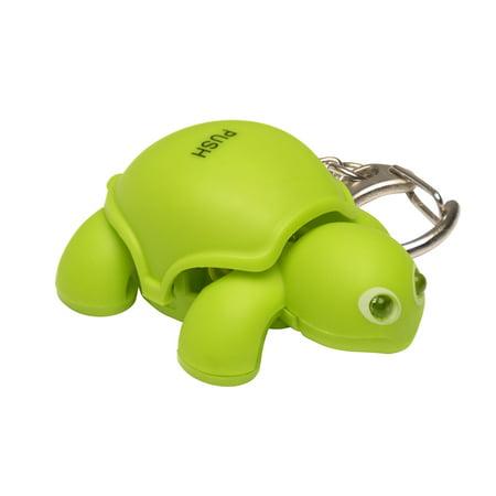 Keygear 50-KEY0133 Turtle Light Key Holder, Green