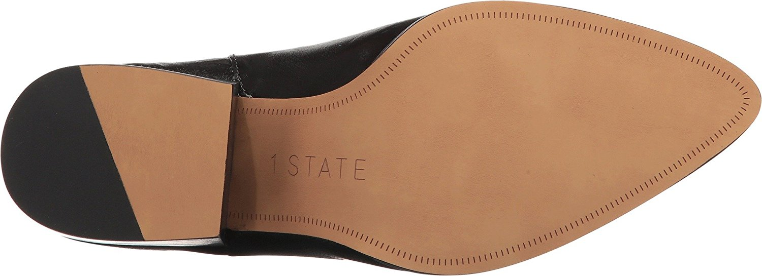 1.STATE Womens Jemore, Black Legno, Size 9.5 Shoes that are both comfortable and beautiful and eye-catching