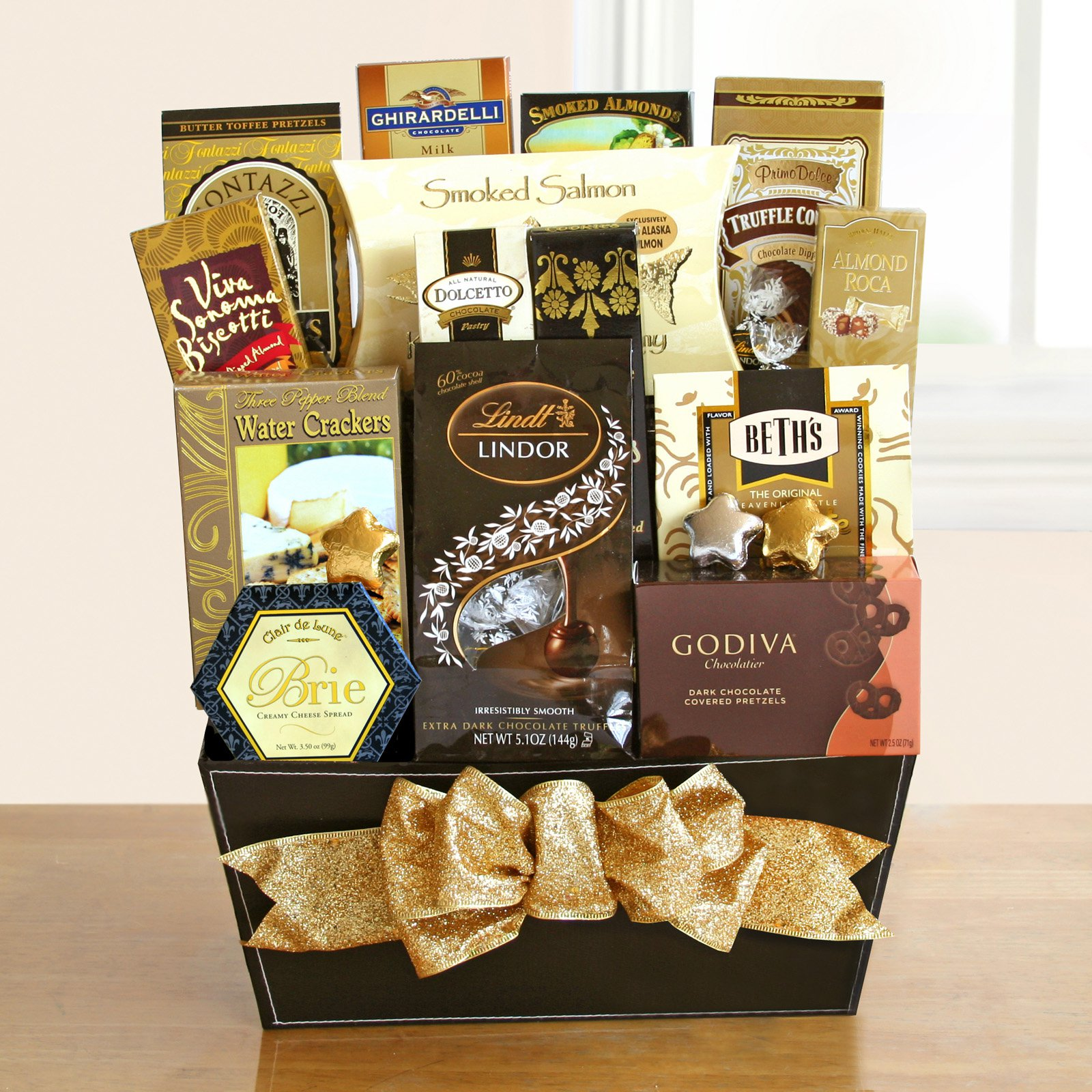 Fine ; Fancy Gourmet Gift Basket