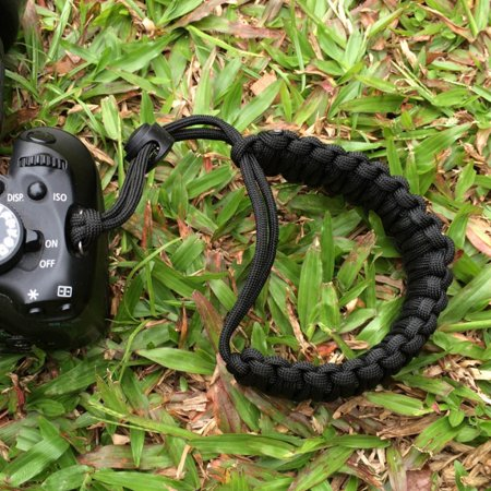 Strong Camera Adjustable Wrist Lanyard Strap Grip Weave Cord for Paracord DSLR (Adjustable Wrist Lanyard)