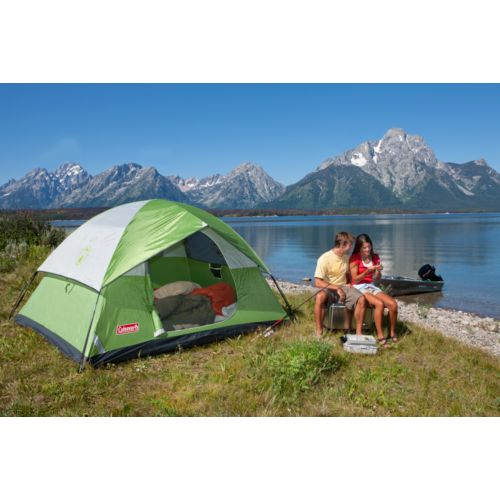 Coleman Sundome 4-Person Dome Tent Image 4 of 4  sc 1 st  Walmart & Coleman Sundome 4-Person Dome Tent - Walmart.com