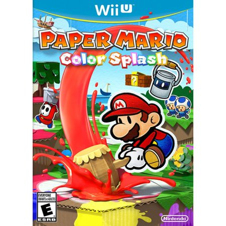 Paper Mario Color Splash  Wii U