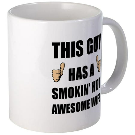 Hot Guy Nurse (CafePress - This Guy Awesome Hot Wife Mugs - Unique Coffee Mug, Coffee Cup)