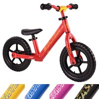 Eastern Pusher Ultralight and Adjustable Balance Bike for Ages 1 to 6 years old. Only 4.6 lbs (Red)
