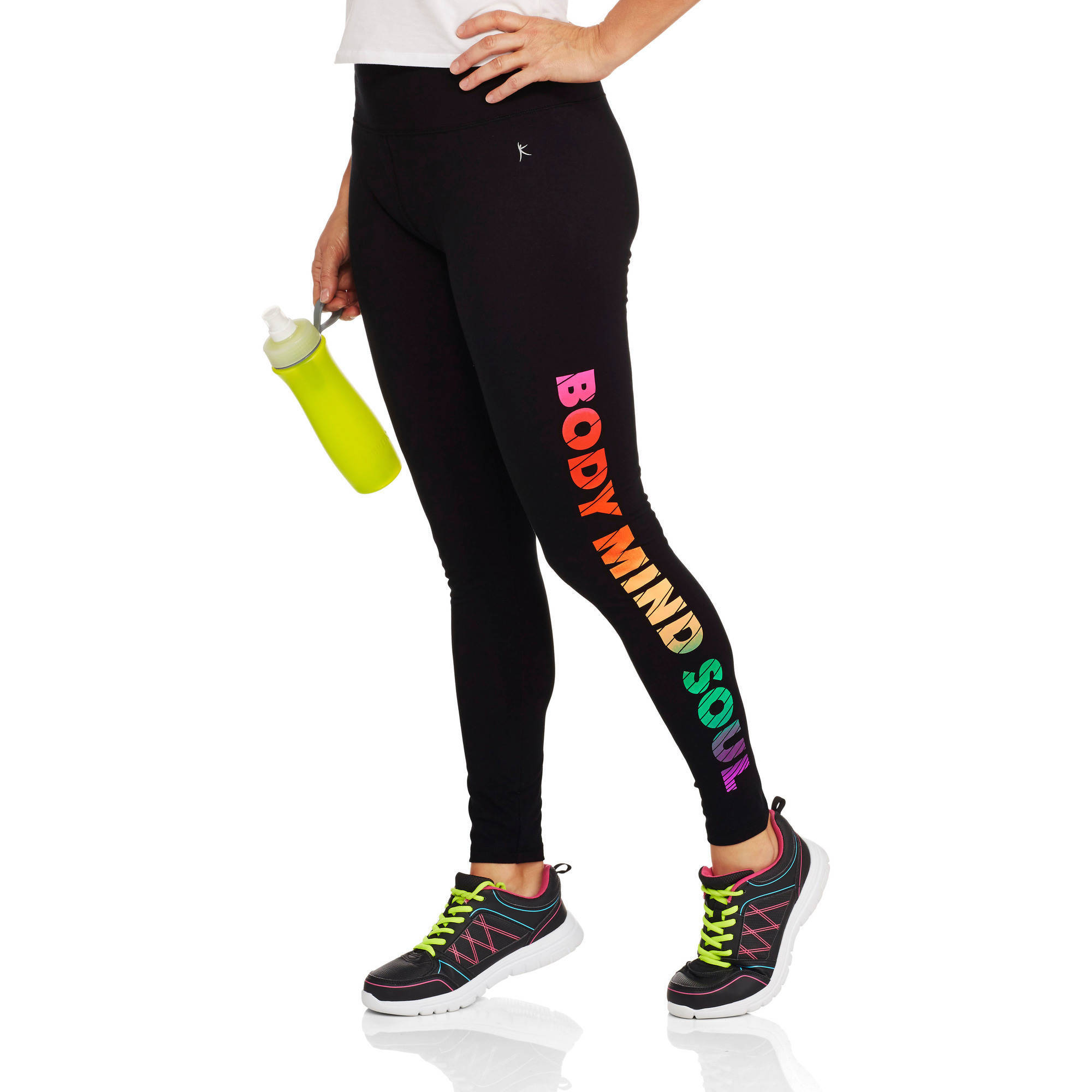 Danskin Now Women's Fitspiration Active Graphic Legging
