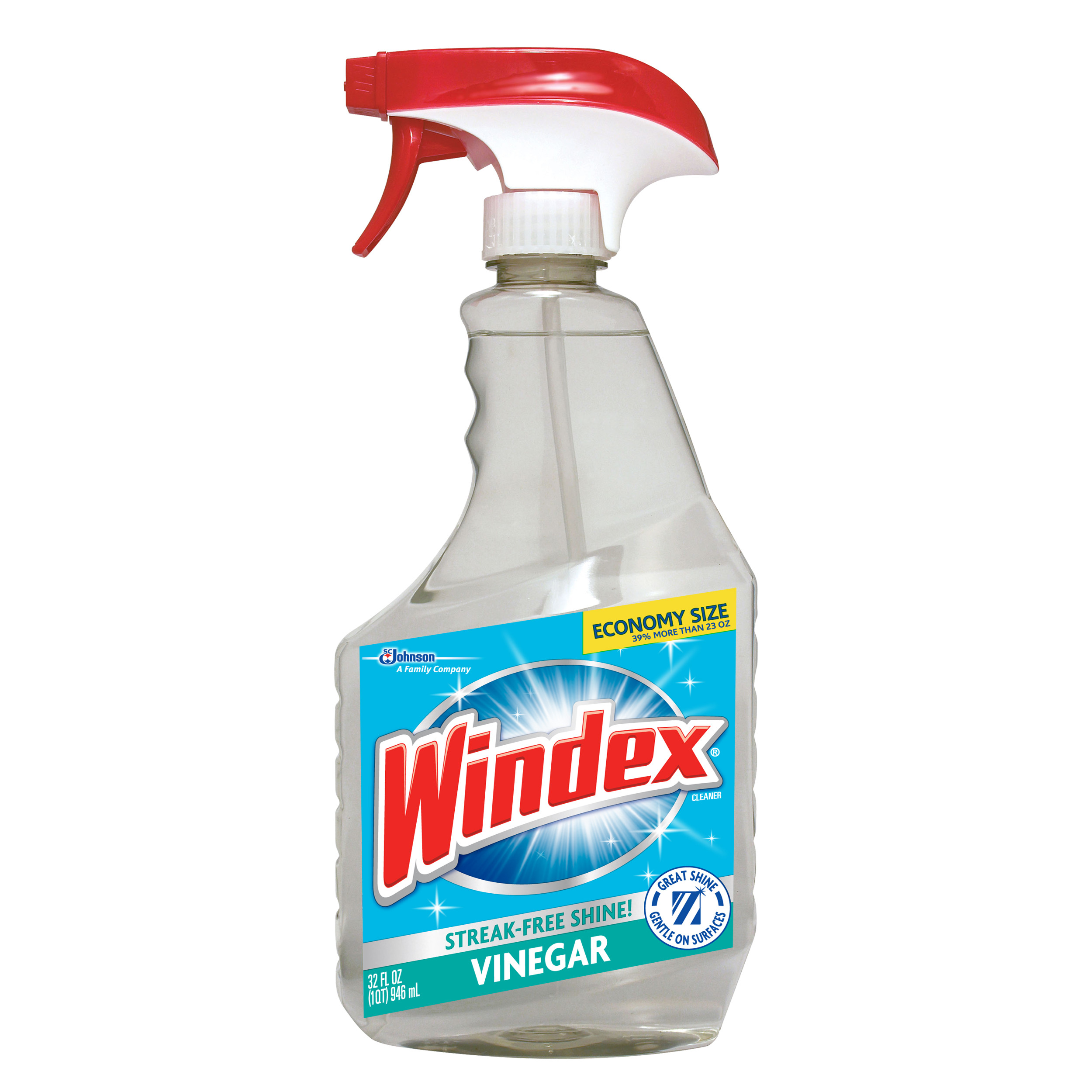 Windex Vinegar Multi-Surface Cleaner Trigger 32 Fluid Ounces