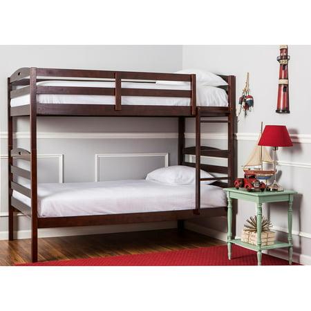 Camp Bunk Box (Dream On Me Nova 2-in-1 Twin Over Twin Bunk Bed, Espresso, Box 1 of 3 )