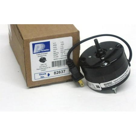 82637 Bathroom Fan Vent Motor for Broan Nutone 53581