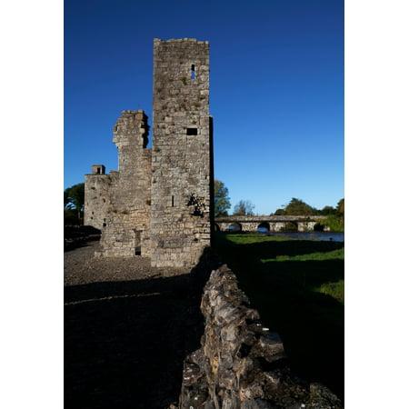 St John the Baptist ruins Trim County Meath Ireland Canvas Art -...