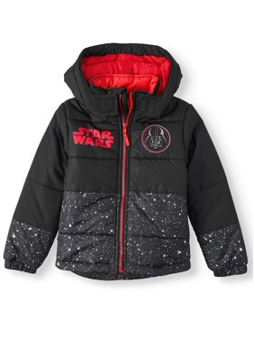 Star Wars Hooded Puffer Jacket (Little Boys)