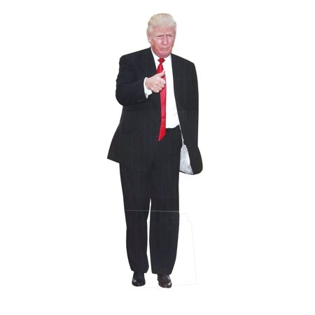 Life Size Standups (Aahs Engraving Life Size Donald Trump Novelty Cardboard)