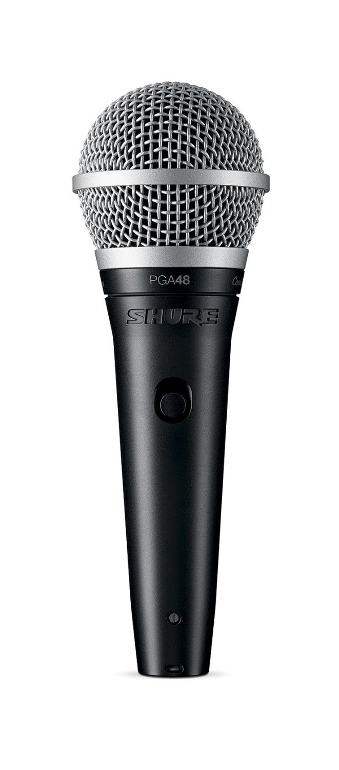 Shure PGA48-QTR Cardioid Dynamic Vocal Microphone by Shure