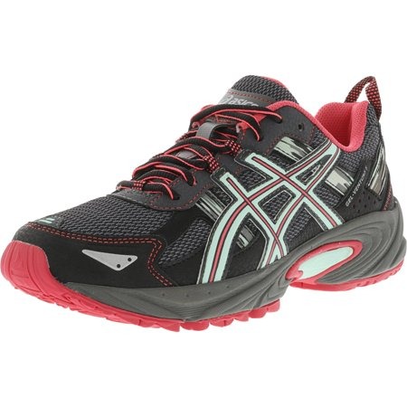 Asics Women's Gel-Venture 5 Carbon / Diva Pink Bay Ankle-High Running Shoe - 9M