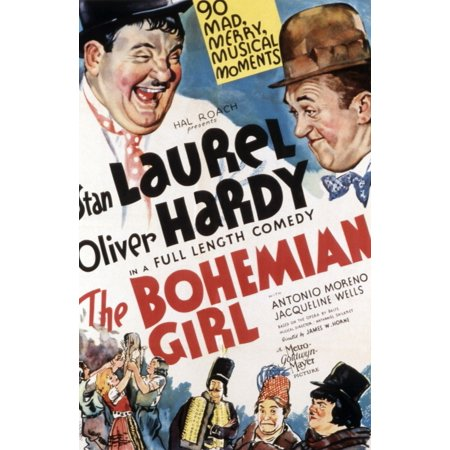 The Bohemian Girl Oliver Hardy Stan Laurel 1936 Movie Poster Masterprint](Laurel Hardy Halloween)