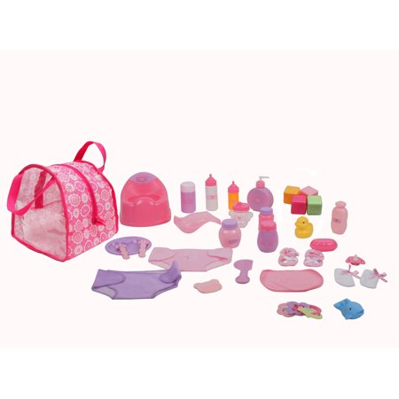 Dream Collection 30 Piece Baby Doll Care Accessories Set