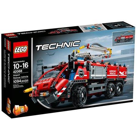 Lego Technic Airport Rescue Vehicle 42068 Walmartcom