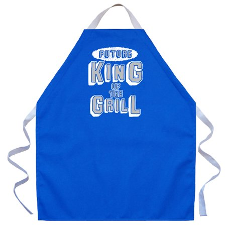 - LA Imprints Aprons For Kids Boys - Future King Of The Grill
