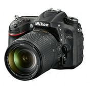 Nikon Black D7200 DX Digital SLR Camera with 24.2 Megapixels and 18-140mm Lens Included
