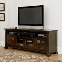 Progressive Furniture Telluride TV Console - Mesa Brown