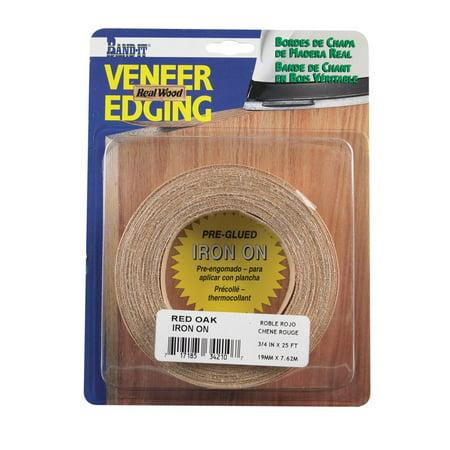Red Oak Veneer (Band-It Wood Veneer Edge Banding 3/4