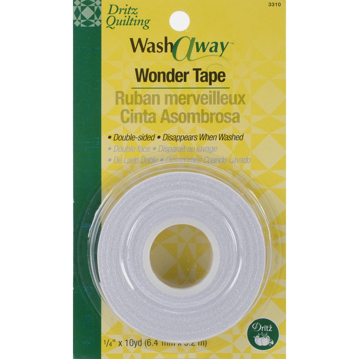 1//4-Inch by 10-Yards Dritz WashAway Wonder Tape.25-inch x 10yd.25 x10yd