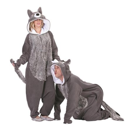 Willie the Wolf Adult Funsie Costume