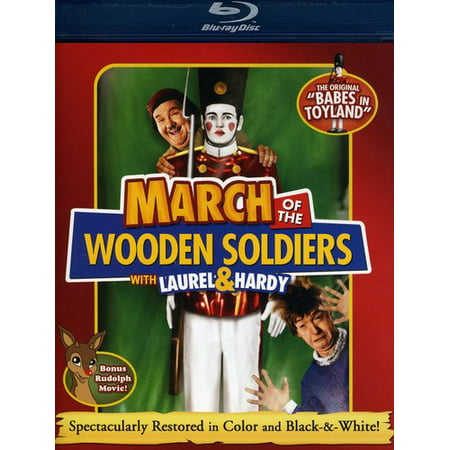 March of the Wooden Soldiers (Blu-ray) - March Of The Toy Soldiers